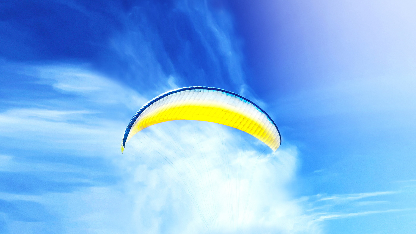 [Main Media] [Homepage banner] [CCR] Paragliding